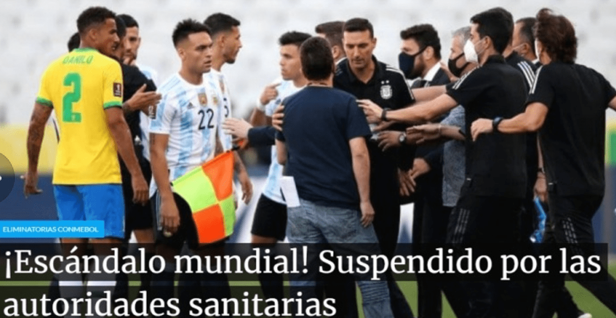 梅西怪错人了?怒斥对手丢人后,巴西反击:是阿根廷球员先违规