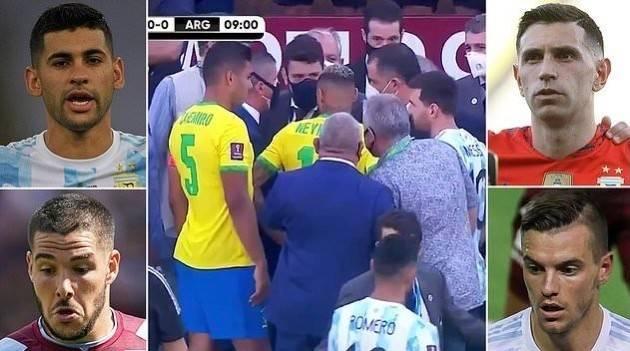 闹剧!梅西怒了!质疑巴西防疫官员,内马尔揽肩安慰:完全是灾难