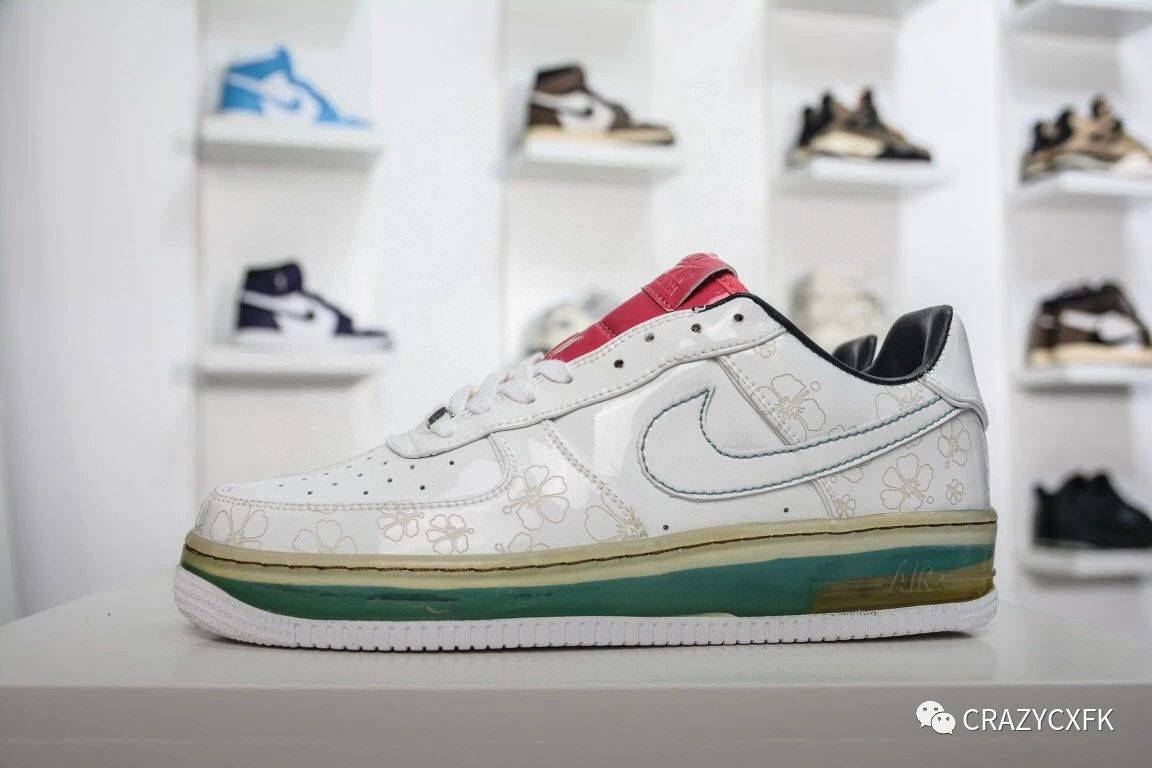 耐克空军一号NikeAirForce1SOCAL洛杉矶樱花运动鞋