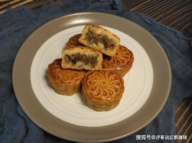 中秋节降至,教你五仁月饼的配方和做法,学会不用再买了