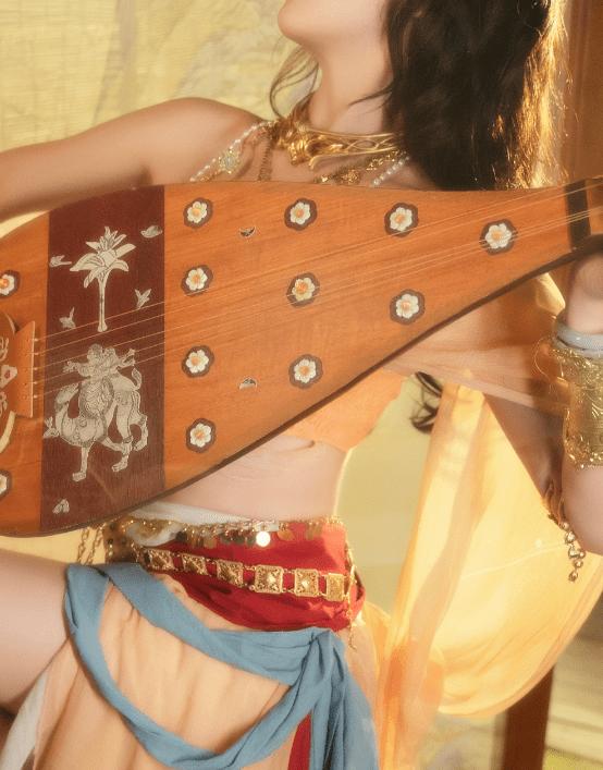 图片[4]-COS服泄露春光?洛丽塔大哥化身敦煌仙女,却因着装被喷:不要脸-妖次元