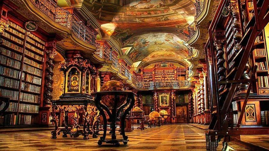 世上最美图书馆:如果有天堂,天堂应该是图书馆的模样