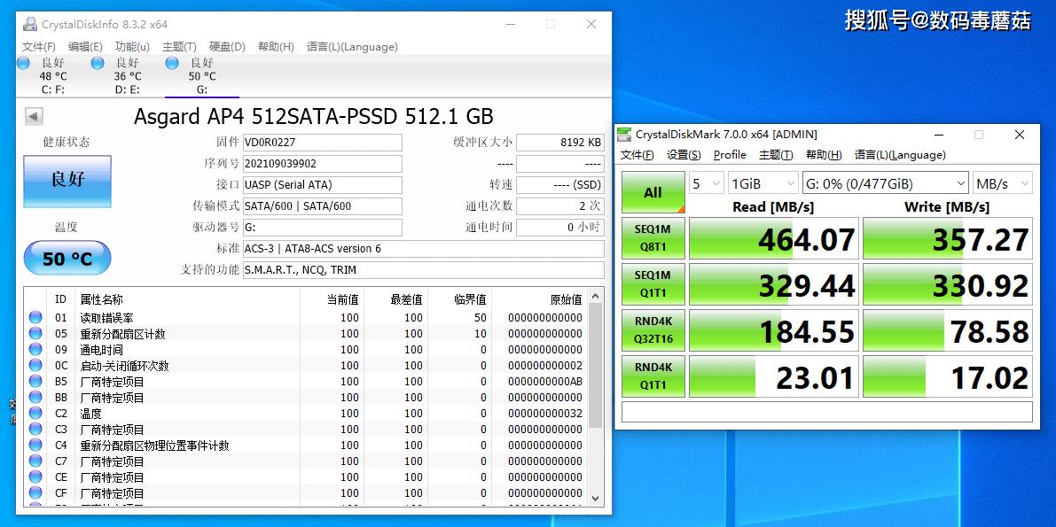 便携、稳定、国产芯!阿斯加特AP4移动固态硬盘测试报告