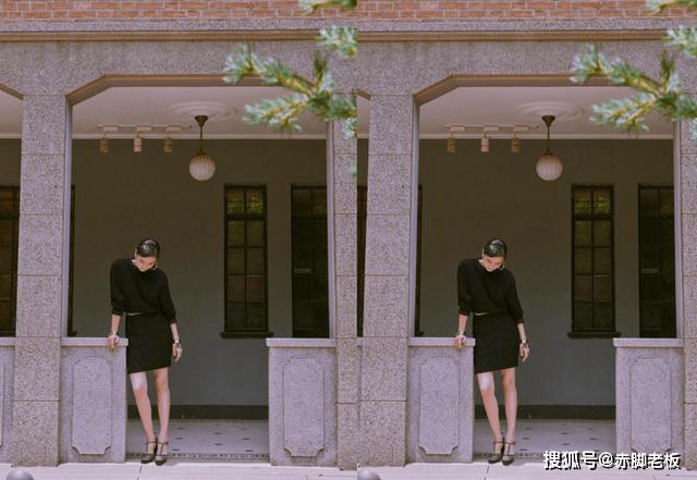 小宋佳挑战复古造型太优雅,穿一身黑尽显高级感,明媚又撩人