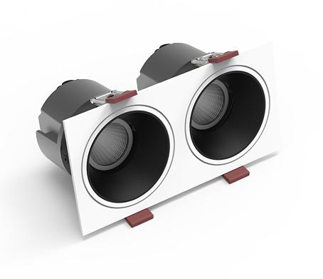COB射灯 JF-SD1006-格栅款