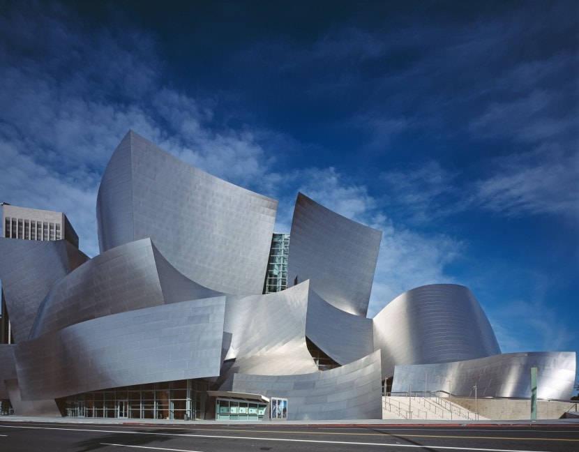 华特·迪士尼音乐厅,解构主义的浪漫风帆
