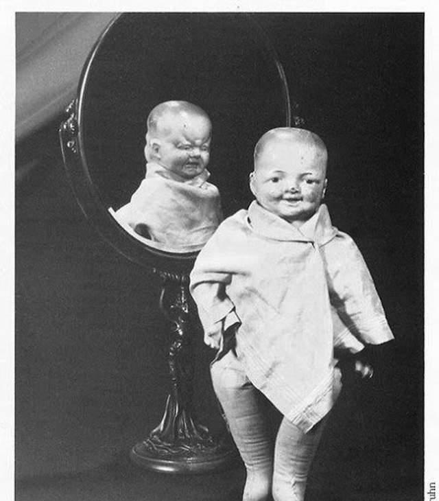 恐怖玩具:10张会让你做噩梦的,恐怖娃娃老照片24r