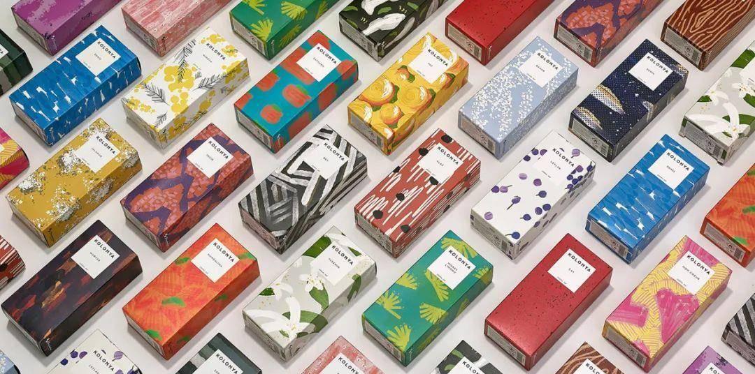 抽象派香薰包装设计