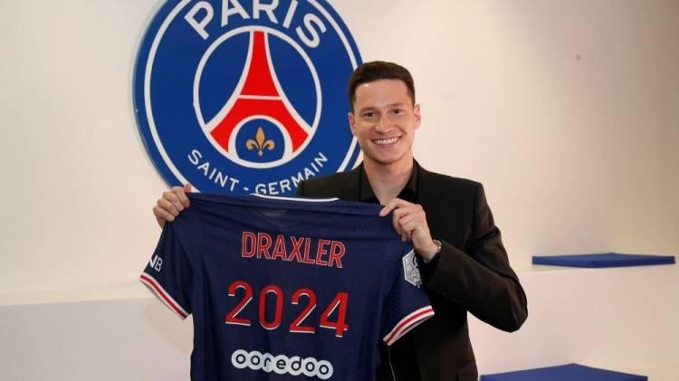 官方:巴黎与德拉克斯勒续约三年 合同至2024年