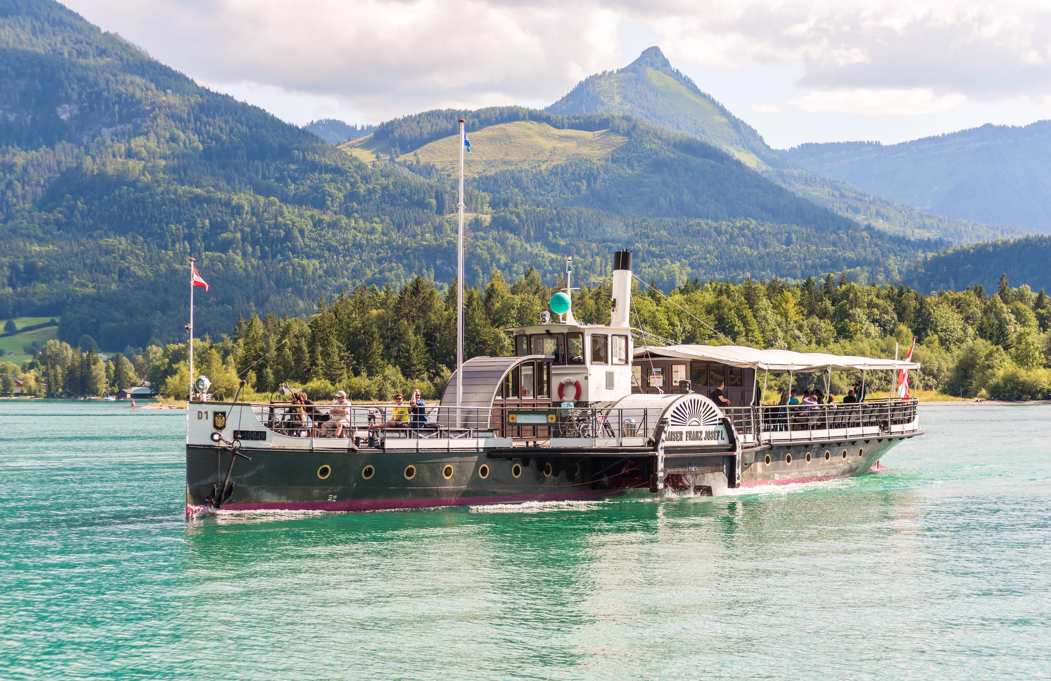 原创 最饱眼福的萨尔茨堡州游船之旅,山水如画的萨尔茨卡默古特再现人间仙境