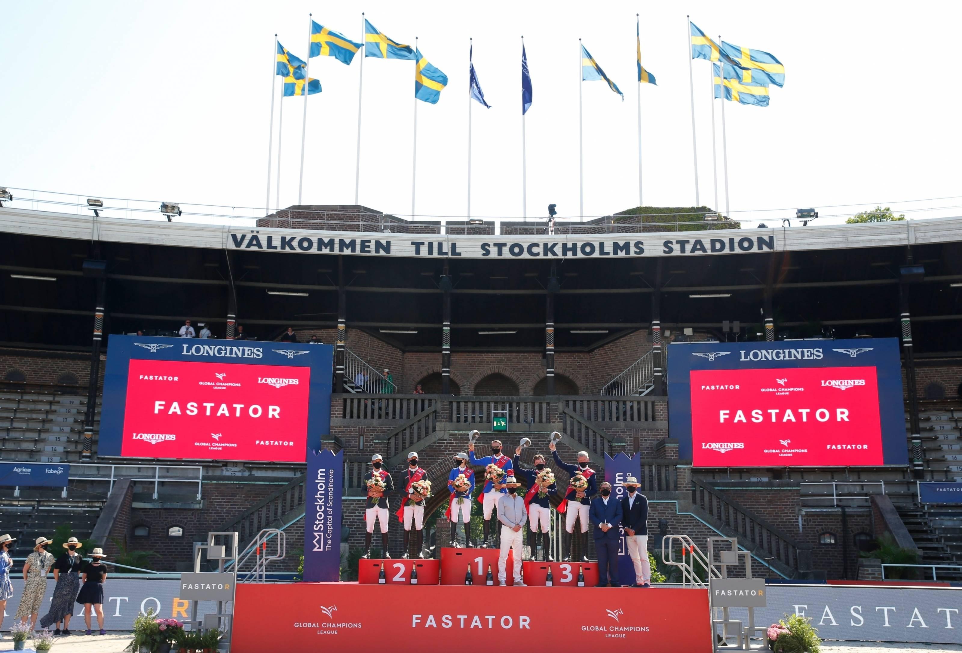 举世集团冠军斯德哥尔摩站:瓦尔肯斯沃德联结队胜利登顶【环球体育】
