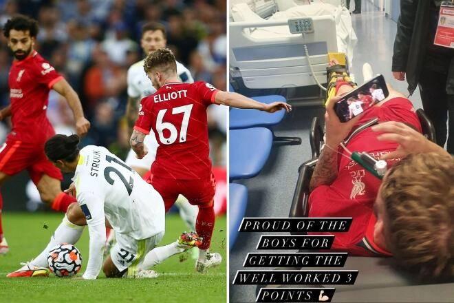 躺在救护车里看比赛 埃利奥特:受伤不是对手的错