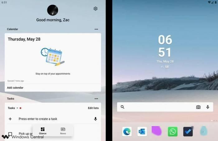 微软自家 Android 应用在设备上运行效果一览