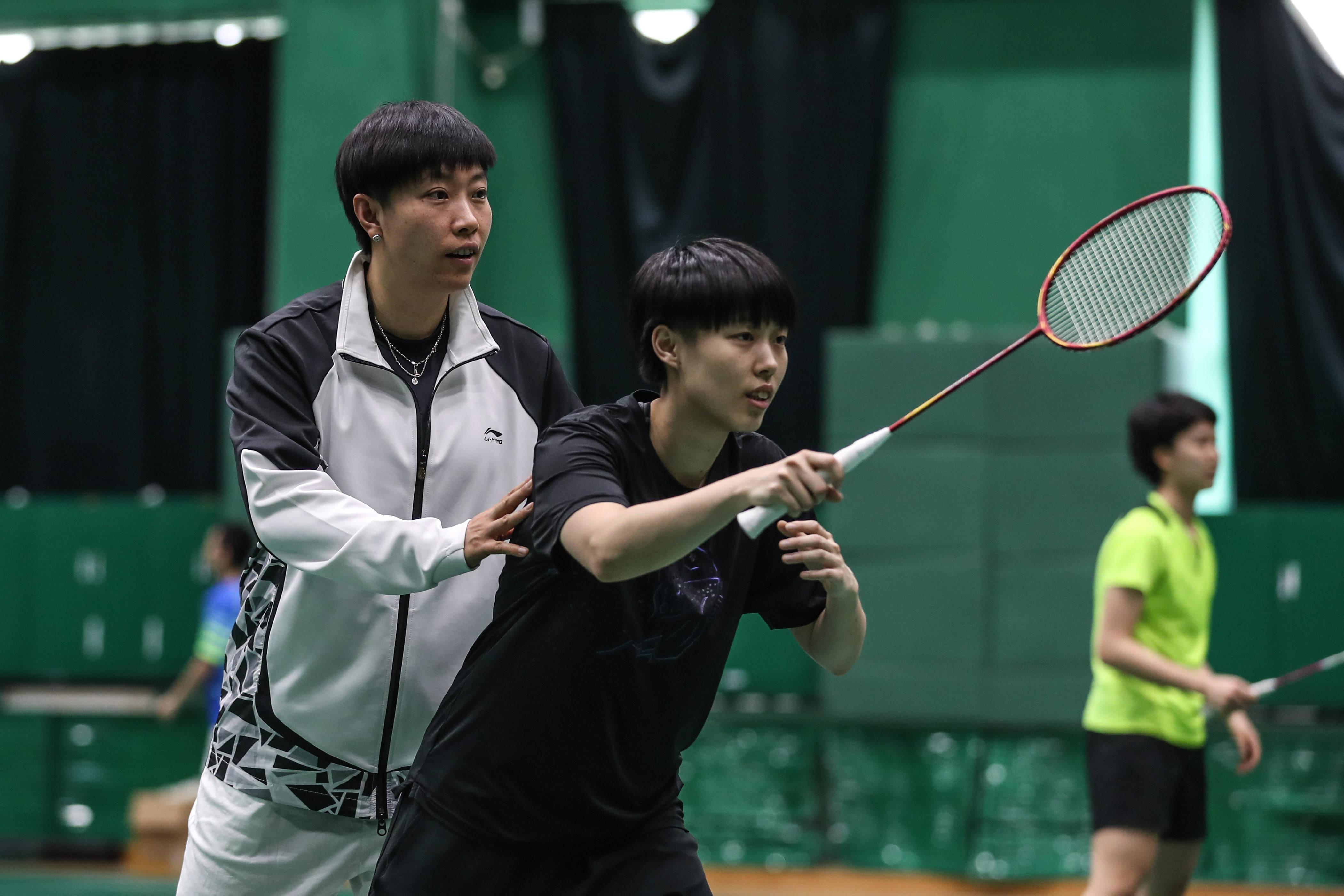 羽毛球——辽宁省羽毛球队进行公开训练