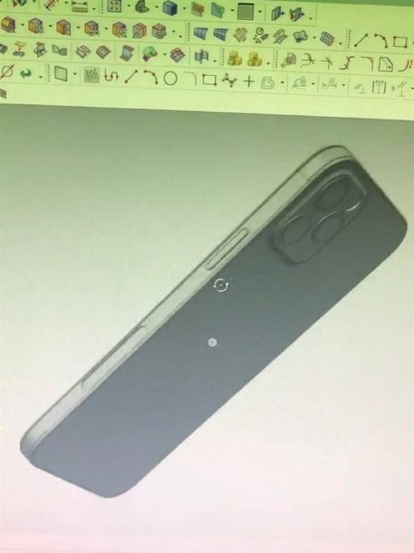 iPhone 12机模曝光:直边框首次回归、继续刘海屏的照片 - 8