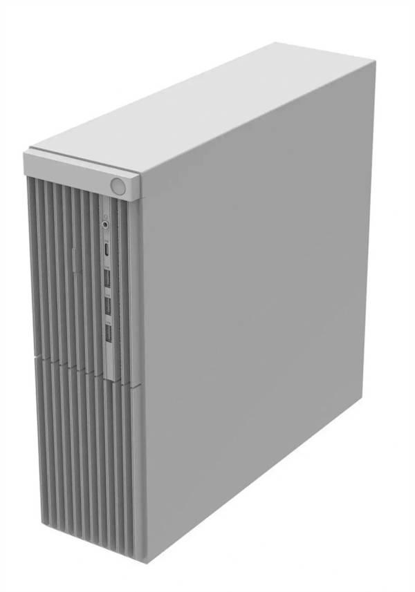 华为新款台式机曝光:仍搭载鲲鹏920处理器、外形设计简洁的照片 - 3
