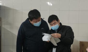 鹤壁市市场监督管理局开展疫情防控期间餐饮单位随机检查
