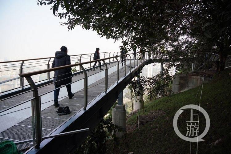 半山崖线步道将在春节前投用 九龙滩项目有望年底建成开放