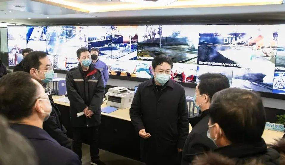 于学利检查督导锦州港疫情防控:坚决筑牢疫情防控的港口防线