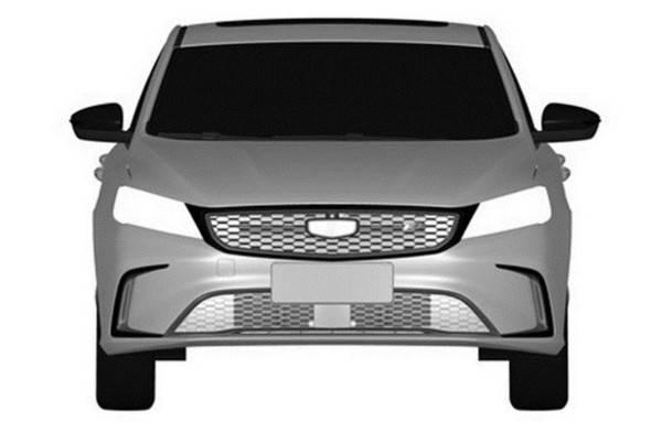 新款吉利缤瑞200T车型专利图曝光 给用户更多选择