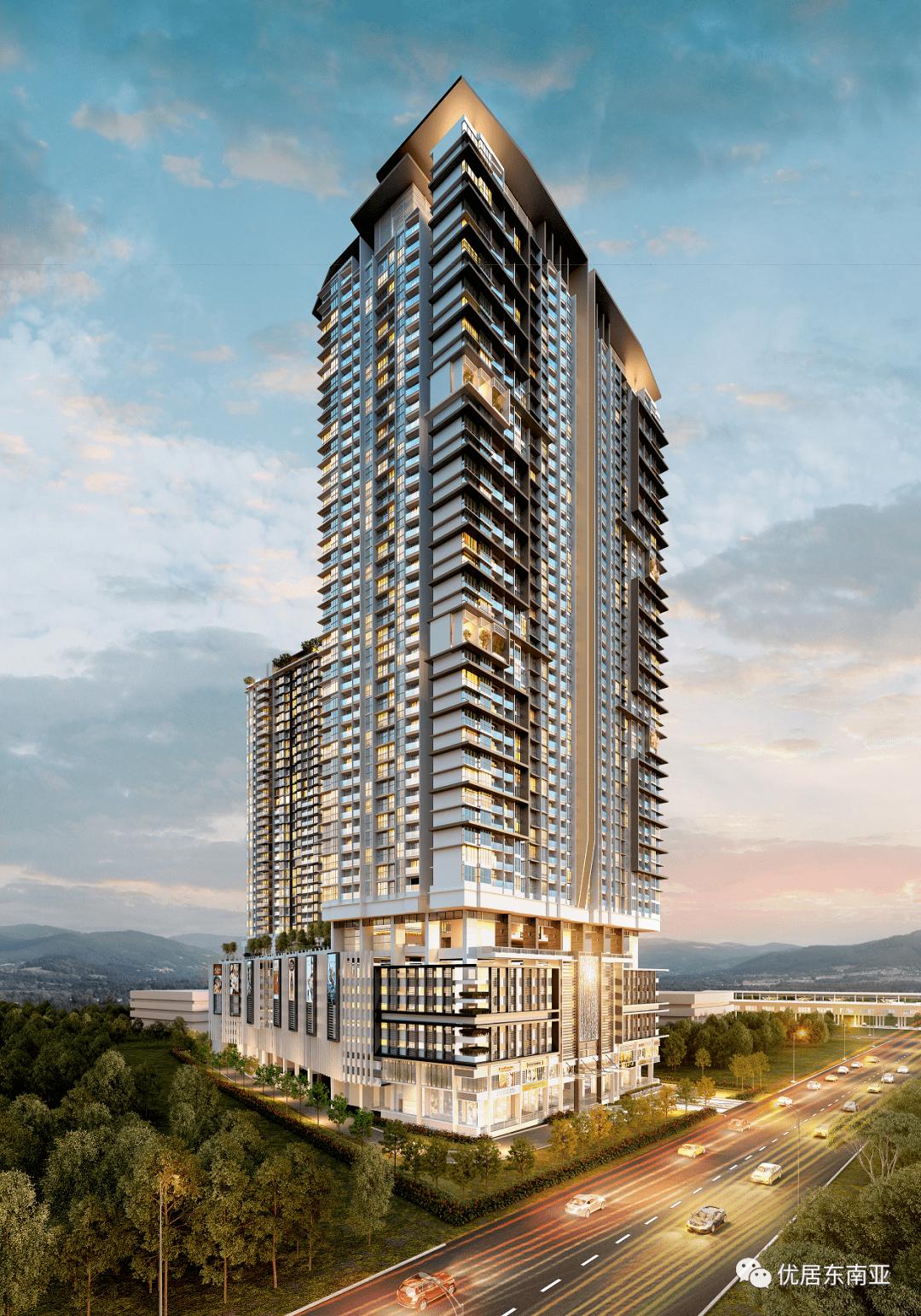 城景苑Lavile,吉隆坡市中心双轨交汇地铁房总价149万元起!