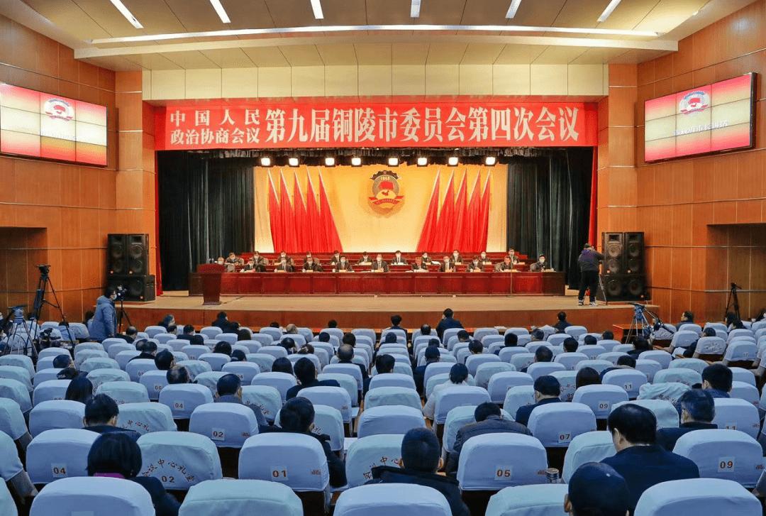 【聚焦铜陵两会】市政协九届四次会议举行第二次大会