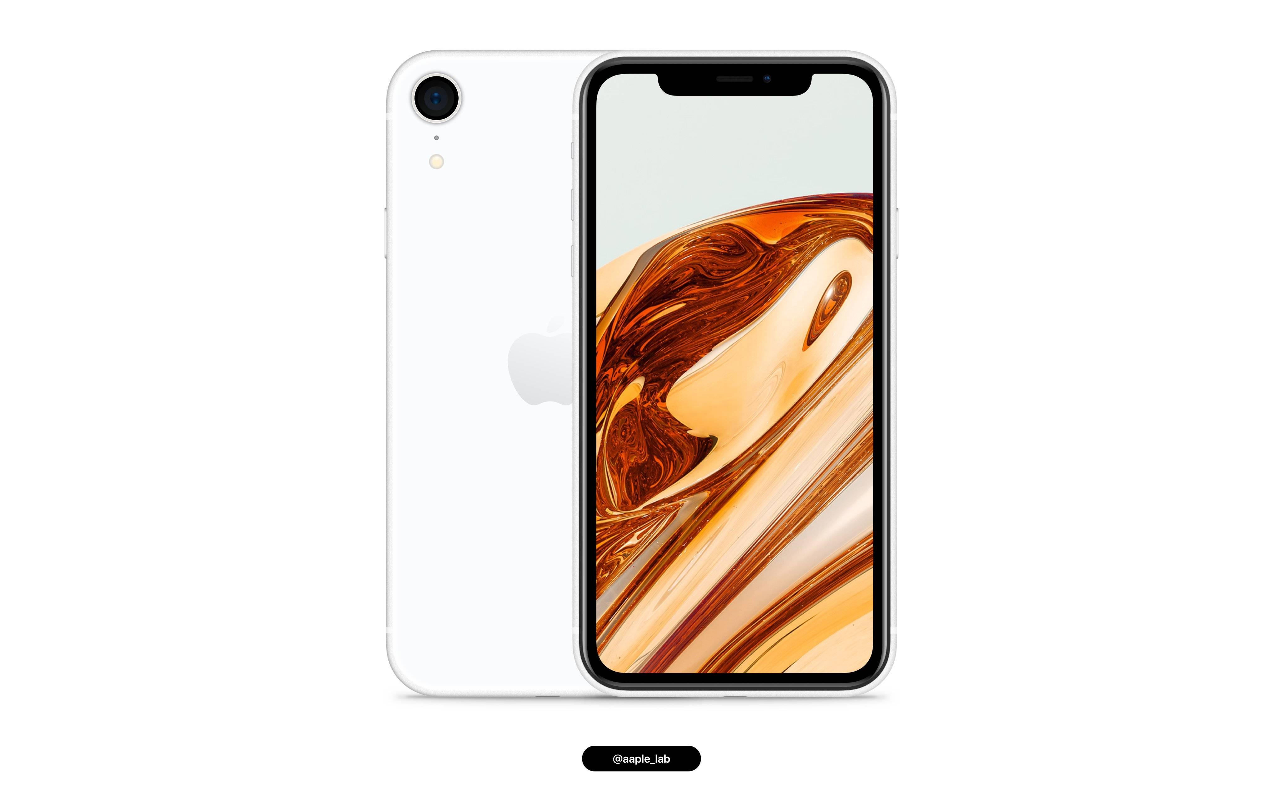 iPhone SE Plus 概念设计:类似 iPhone XR,但采用侧面指纹