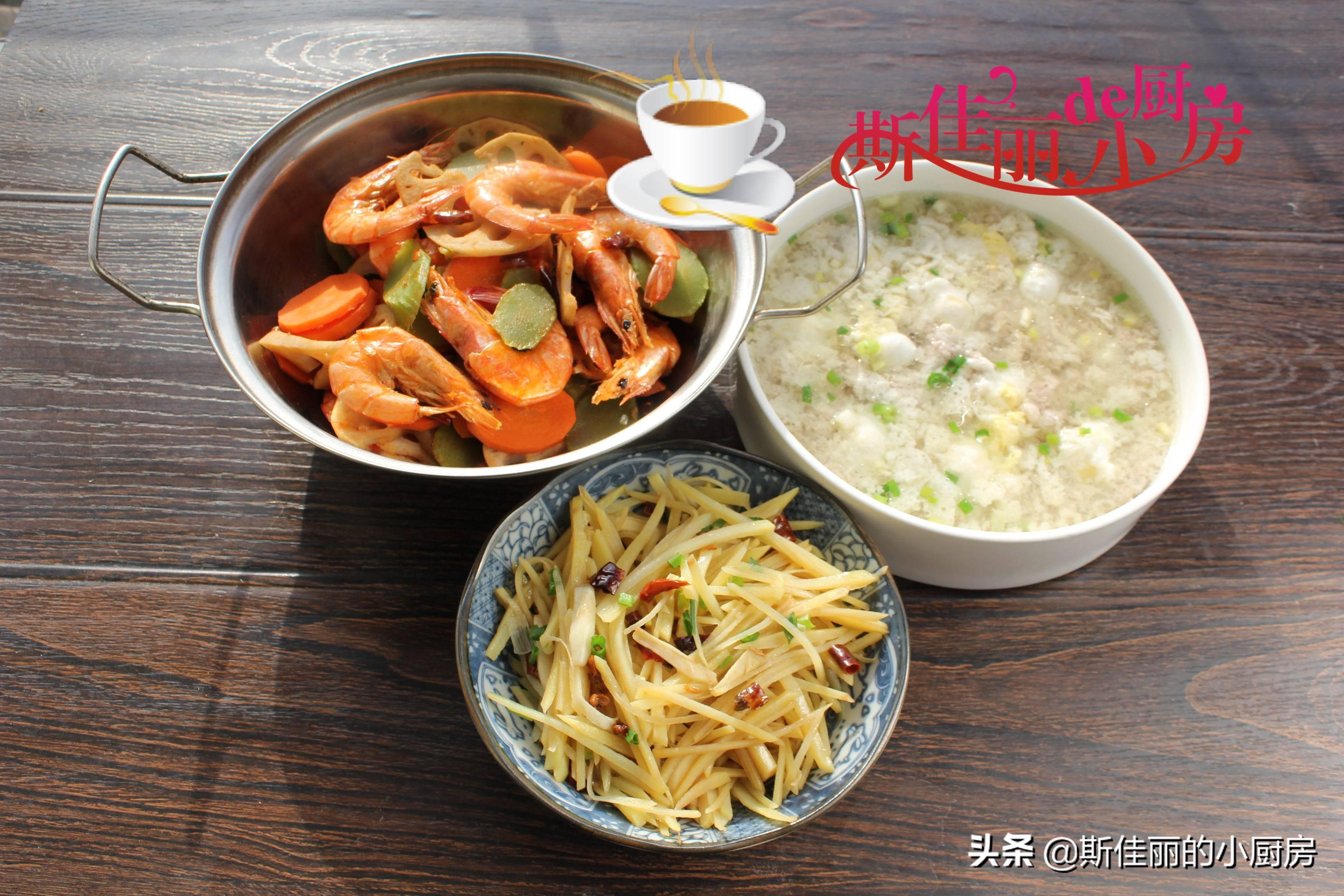 武汉一家三口极简午餐走红朋友圈,不剩菜不浪费,好吃不贵特舒服