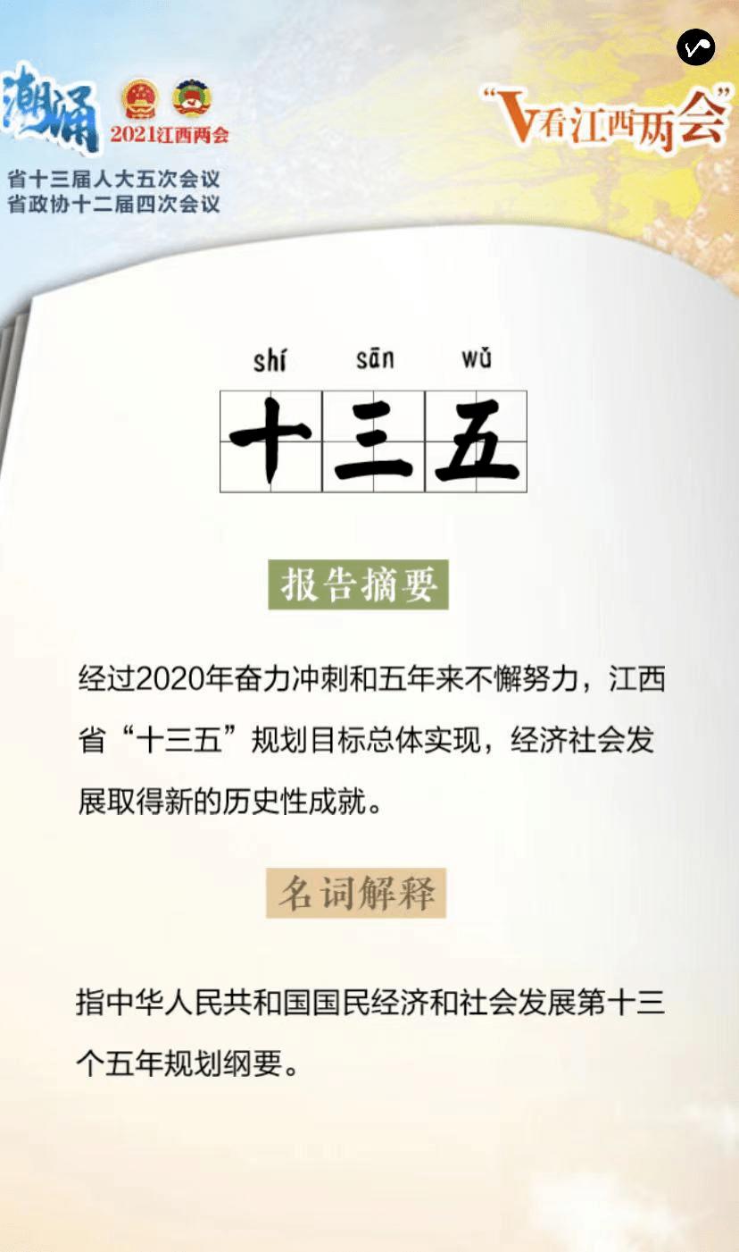 2021江西词典来了!学起来!
