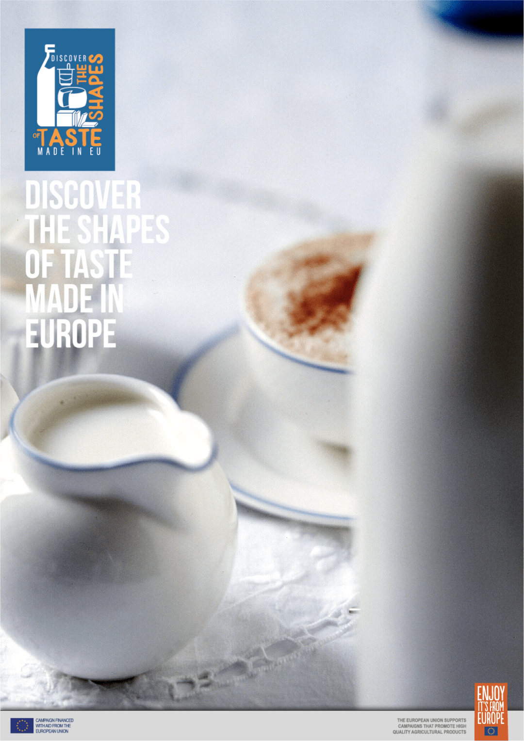"""""""赏味欧陆""""带您领略来自欧洲的优质乳制品"""