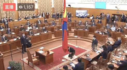 蒙古国新政府宣誓就职当地时间