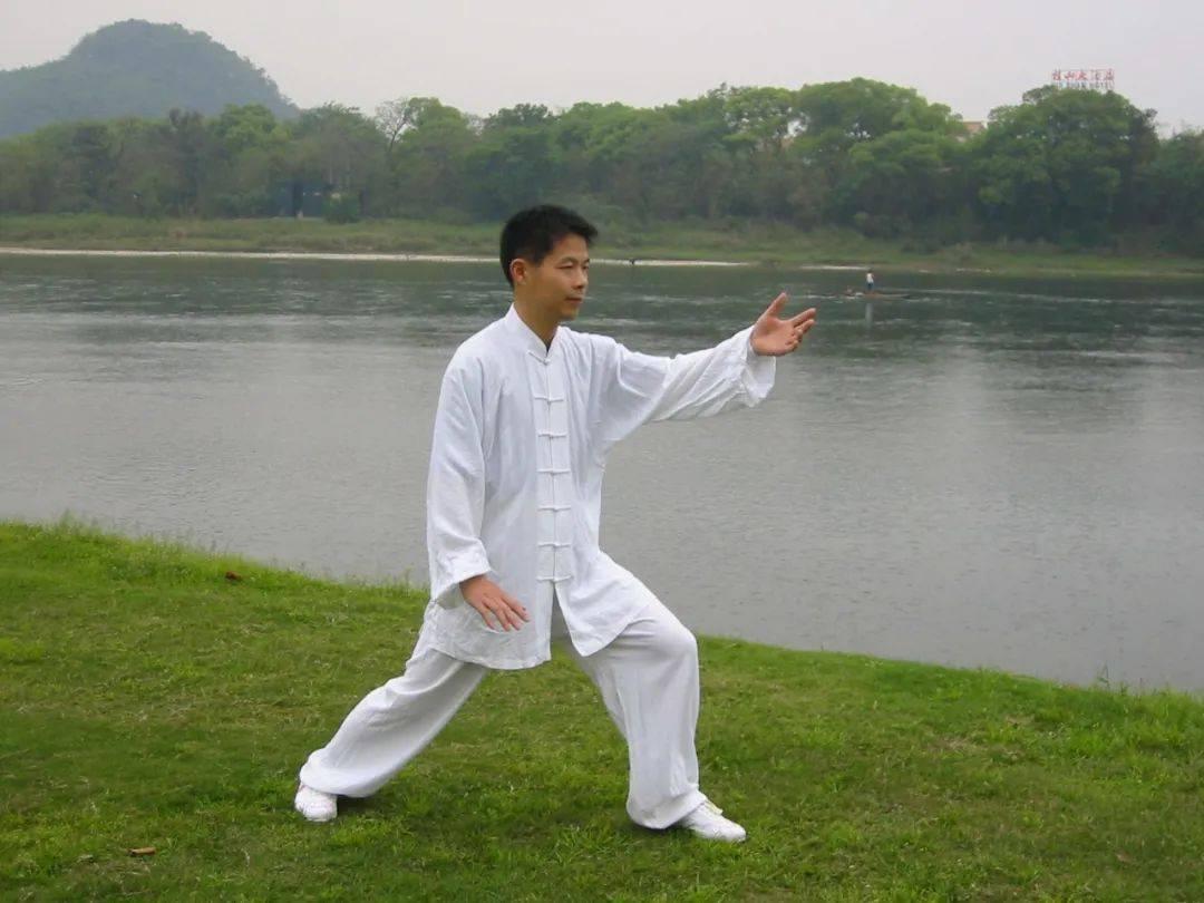 论太极拳「由着(招)熟而渐悟懂劲,由懂劲而阶及神明。」  太极拳非物质文化遗产
