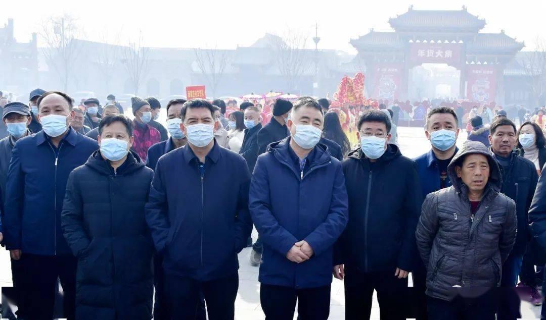 中国年在忻州:忻州古城真红火  第2张