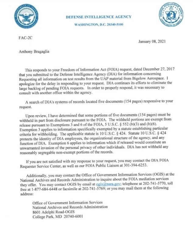 """五角大楼承认拥有并曾经检测UFO残骸,尤其是""""记忆金属"""""""