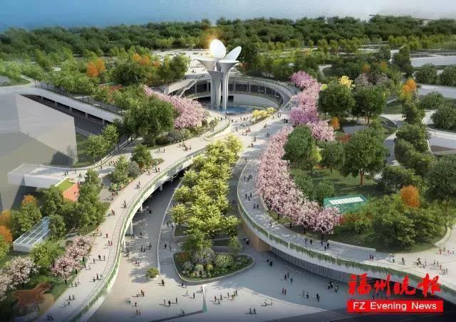 """总建面11万方!市中心""""城市绿谷""""明年底开放!共分为4层!  第5张"""