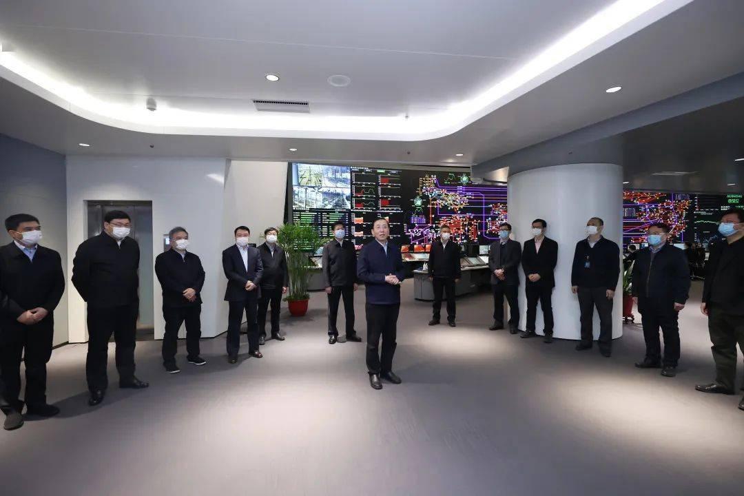 国家电网公司领导看望了总部工作人员