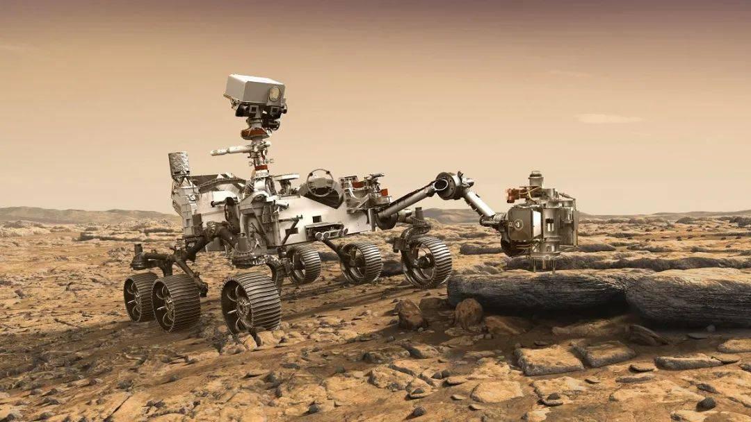 """美国""""毅力号""""携带直升机着陆火星,它要入陨石坑干这些事儿"""