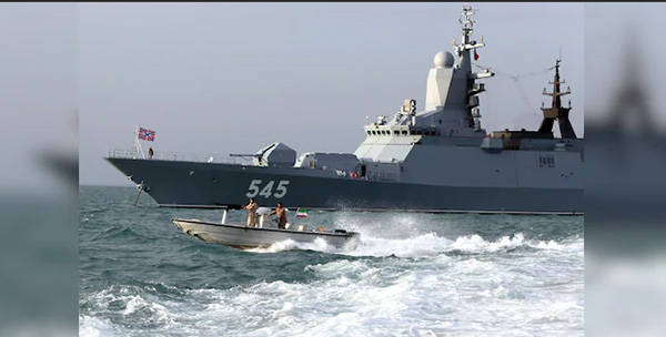 兵韬志略|俄伊在印度洋举行联合军演,防务合作向海洋拓展