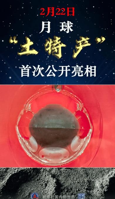 """月球""""土特产""""首次公开亮相!长啥样?"""