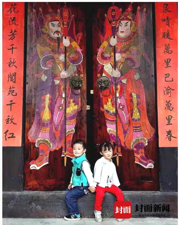 """我们的节日·口述风俗丨阆中""""画""""门神,民风流"""