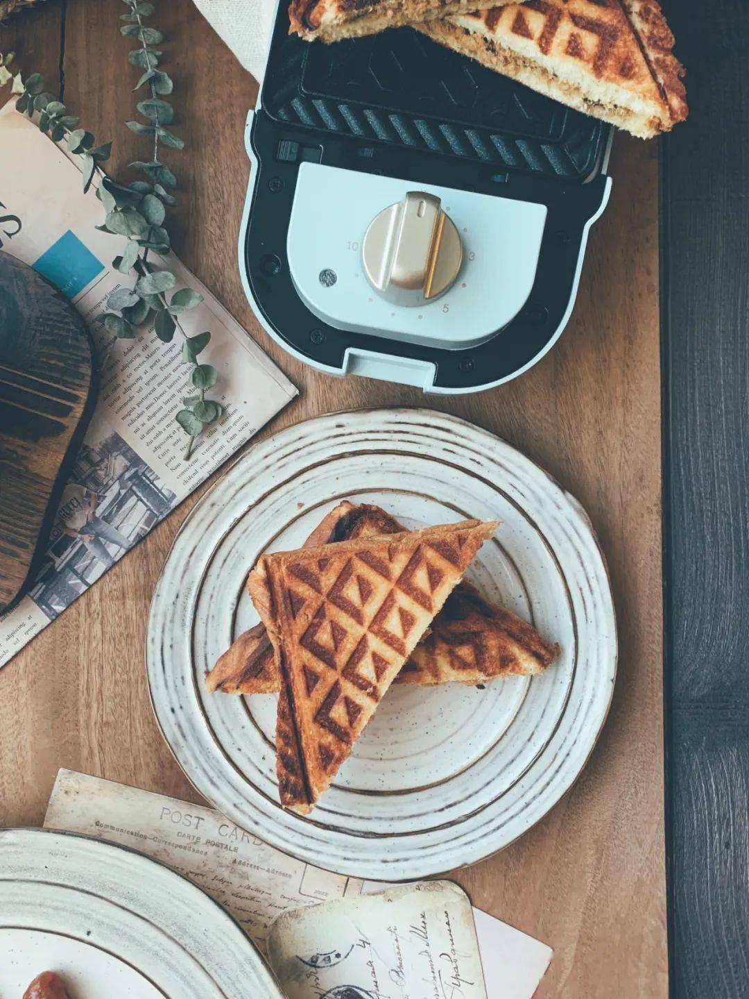 用了三天的早餐机,我放弃了早餐