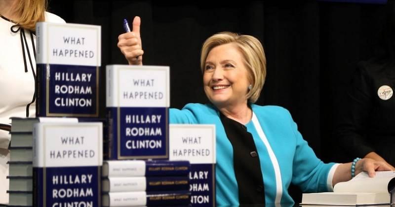 希拉里首次写政治惊悚小说,直指特朗普令全球秩序混乱