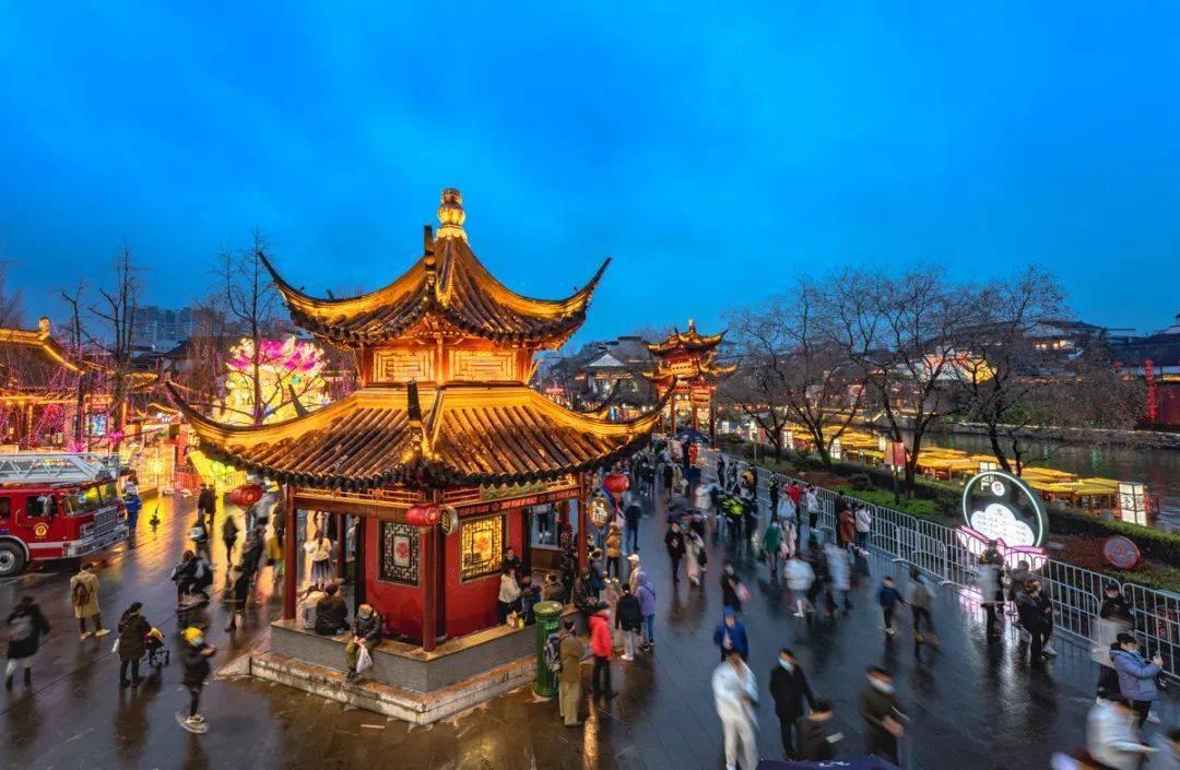绝美!云赏秦淮灯会,南京人的仪式感