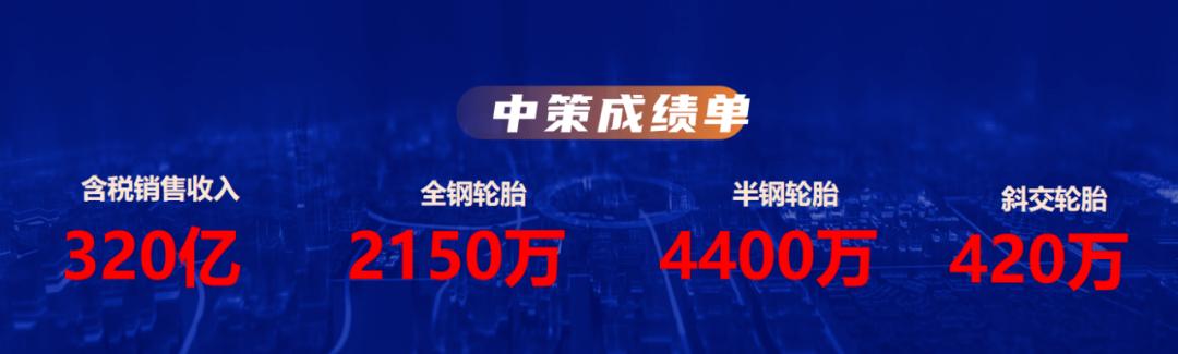 中国政策设定了一个目标:今年将在国内销售4697万个轮胎