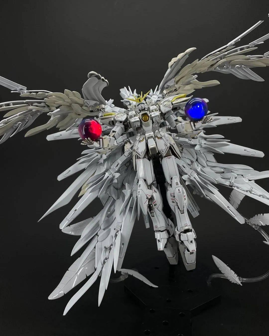白雪姬改造涂装,零式飞翼这身太漂亮了