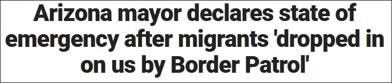 美国小镇涌入大量非法移民后不堪重负,镇长求助联邦政府遭无视
