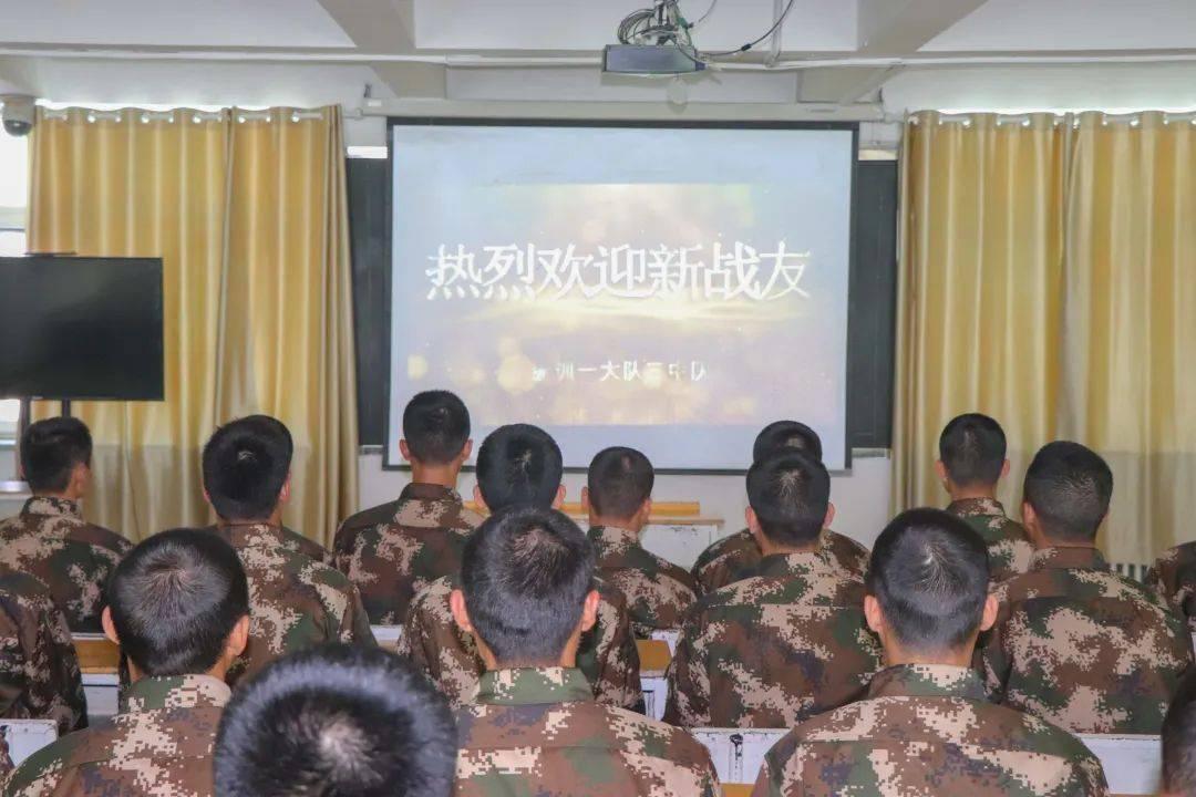 """新兵入营,受到""""十emc体育首页个一""""迎接,太和顺!"""