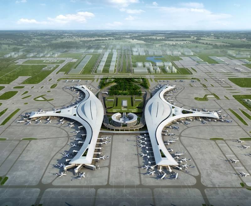 """成都天府国际机场:""""数字密码""""11个埃菲尔铁塔、73个足球场是什么意思?"""