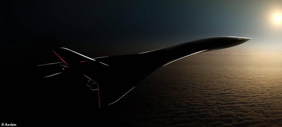洛杉矶飞东京仅2.5小时!美公司展示载客50人超音速飞机
