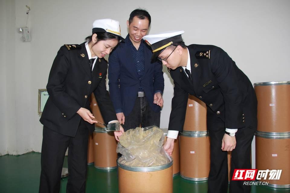 湖南省金银花提取物首次出口